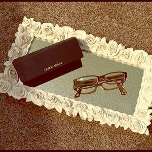 Giorgio Armani Glasses Frames And Case